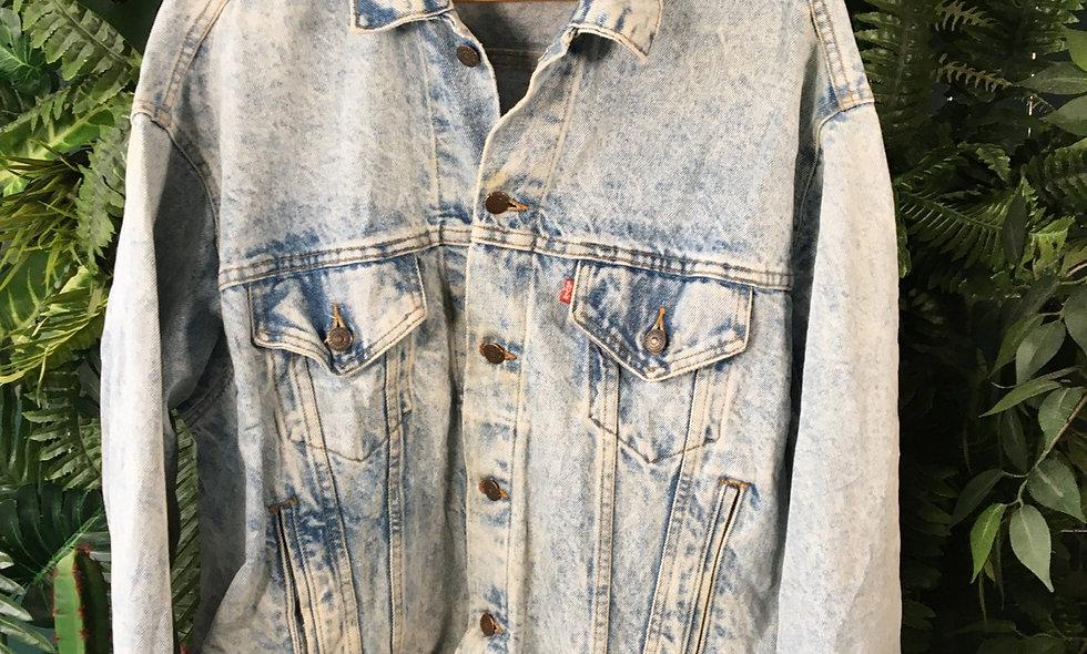 Levi's Distressed Denim Jacket