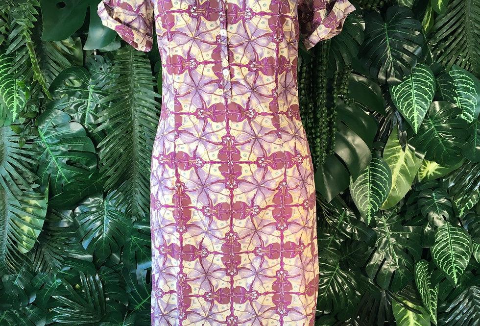 Abstract summer dress