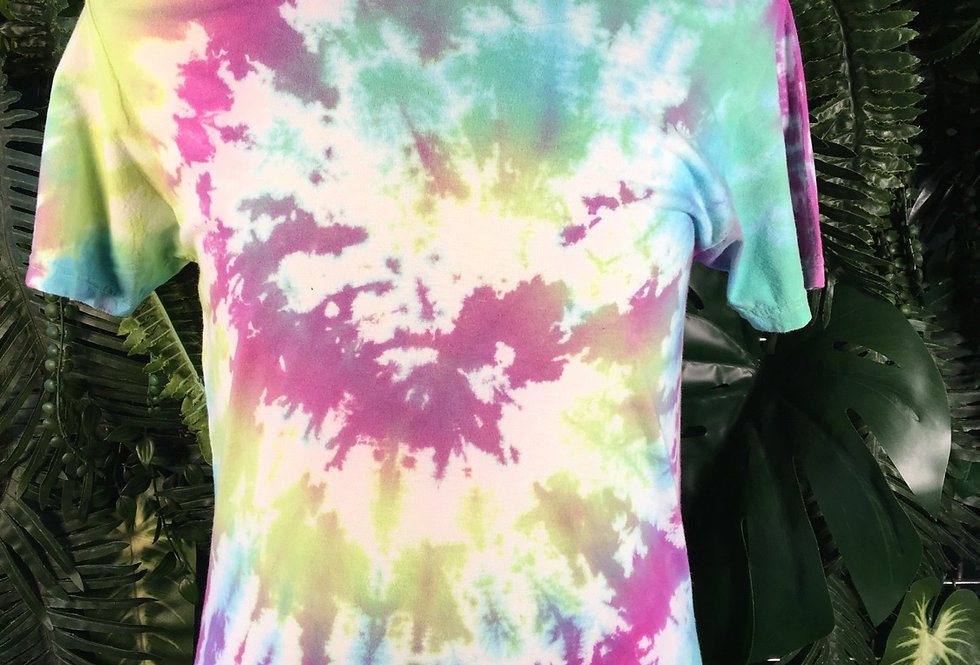 Fruit Of The Loom Tie Dye Tee (S)