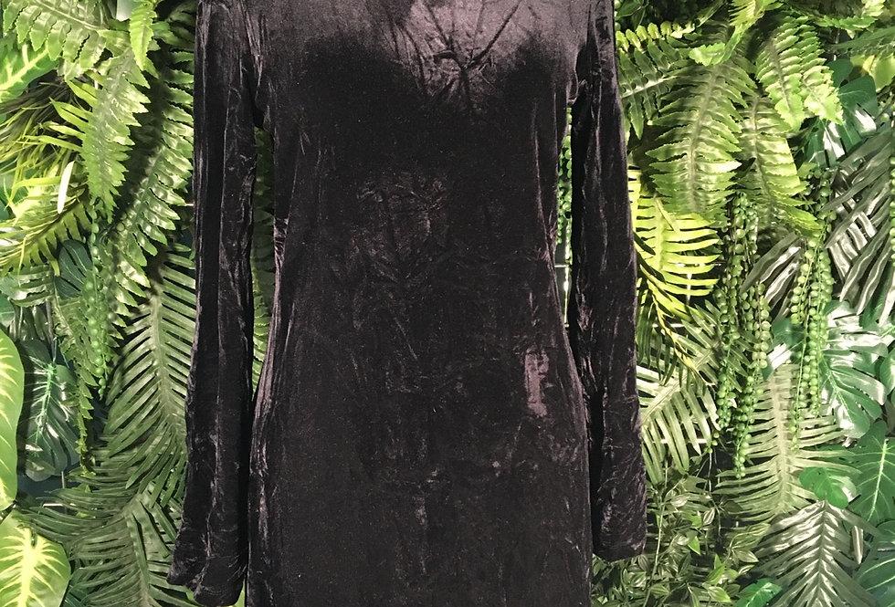My Michelle Velvet Mini Dress (M)