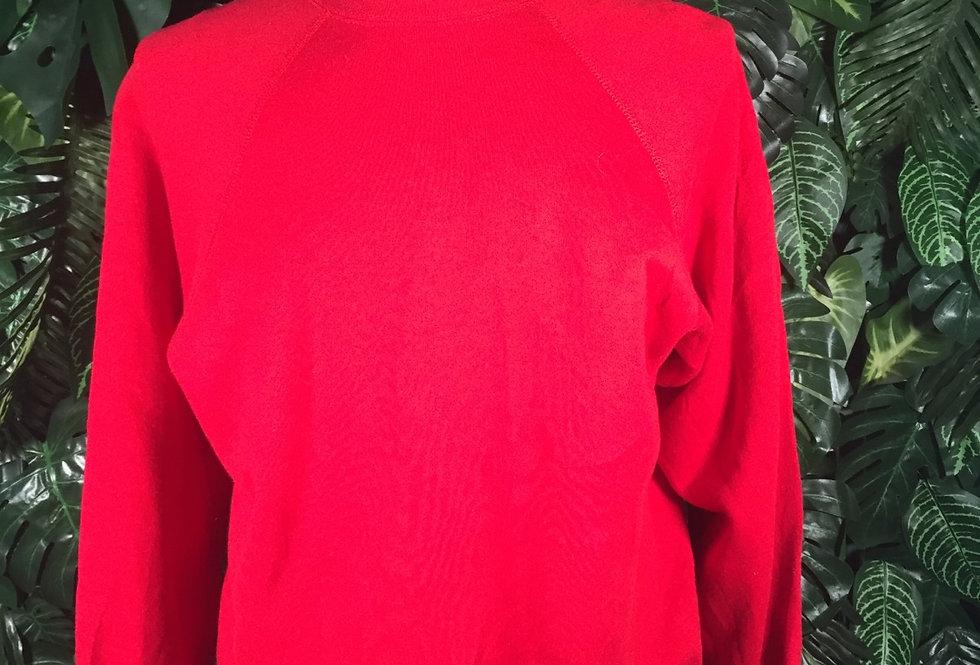 Red crew neck (L)