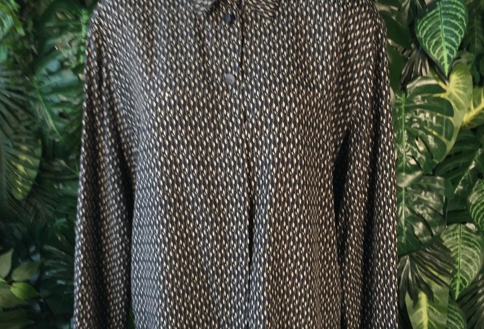 Monochrome blouse (size 42)