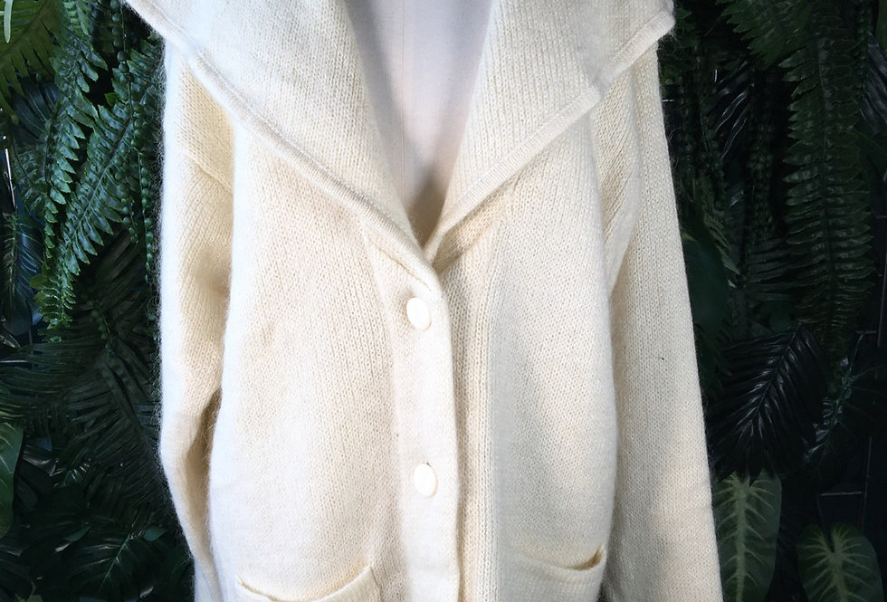 Diffusion Over Sized Collar Cardigan (S)