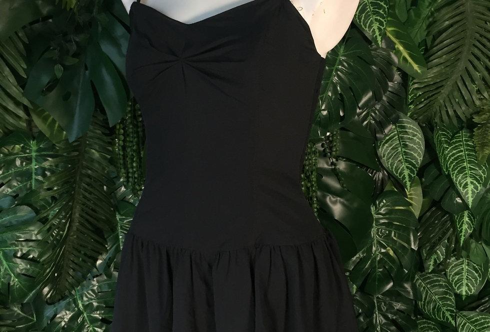 Swing ruffle prom dress (size 14)