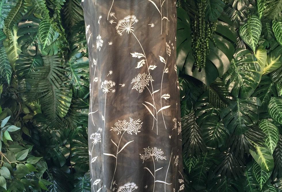 Botanic print shift dress (size 20)
