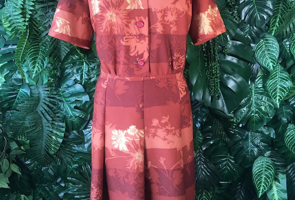 Vintage 1970s Prgodev dress (size 16)