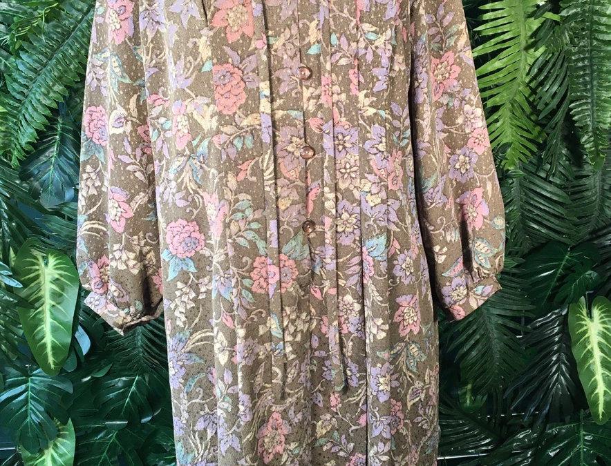 70s Smock Dress (12-14)