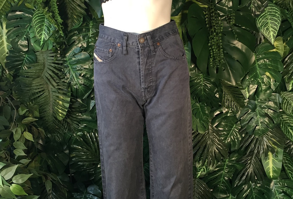 Diesel bootcut jeans charcoal (size 8)