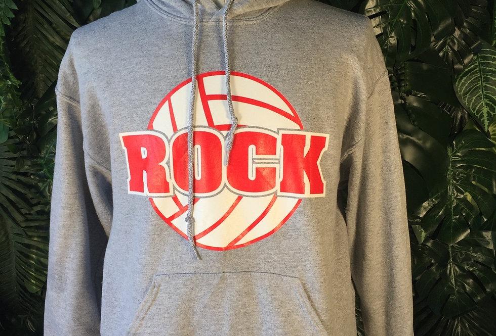 Rock Basketball hoodie (M)