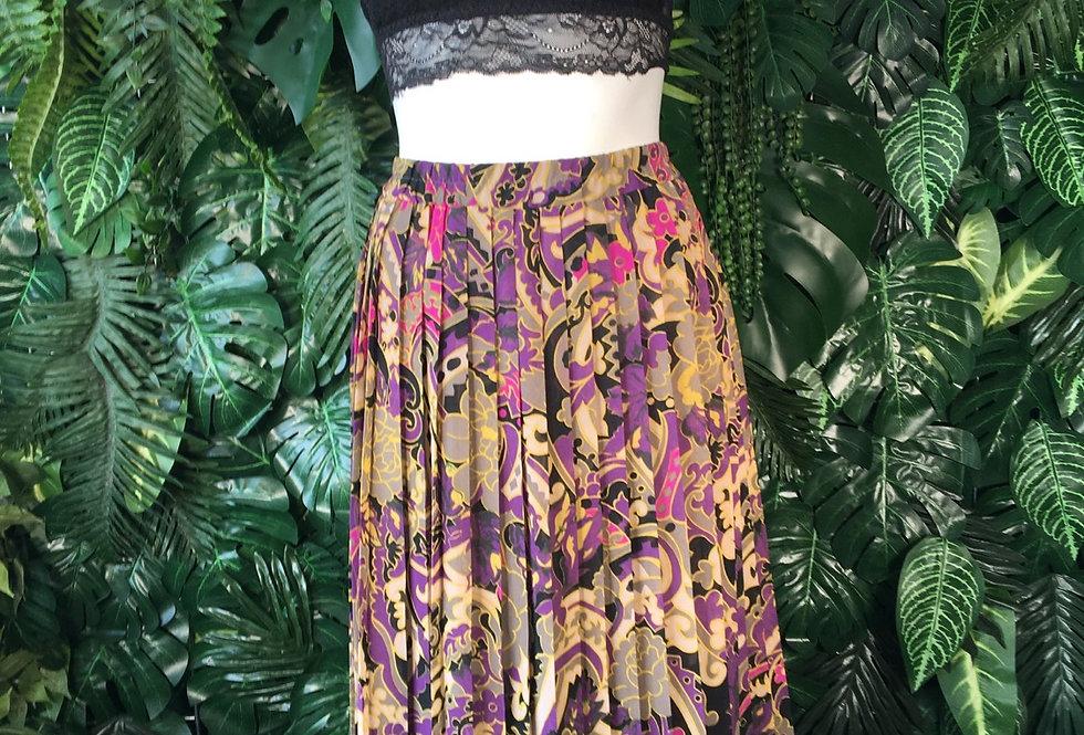 Graphic print skirt (size 42)