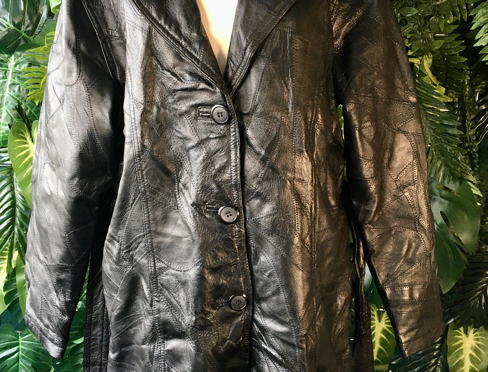 80s Patchwork Leather (L)