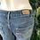 Thumbnail: Levi denim embroidered pocket shorts
