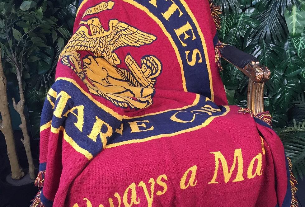 US Marines blanket