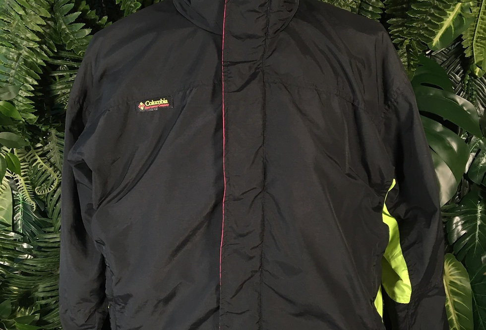 Columbia jacket with fluro details