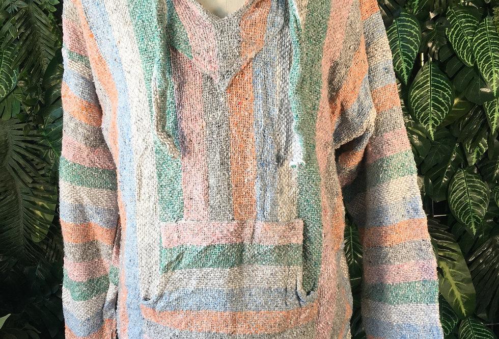 Soft colour baja hoody (XL)