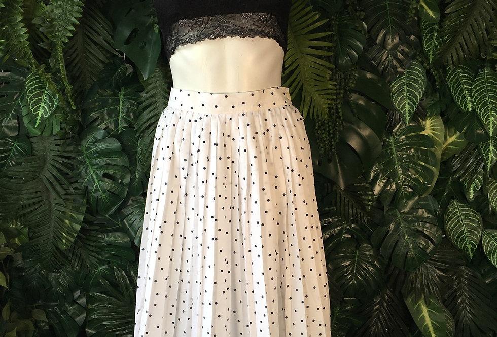 Erfe polka dot skirt (size 40)