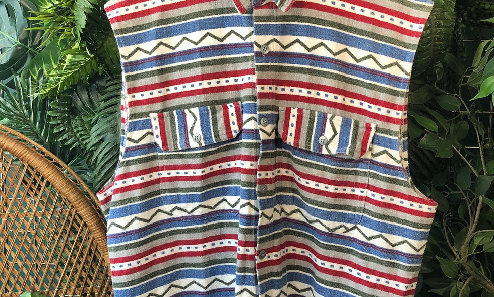 Aztec sleeveless shirt
