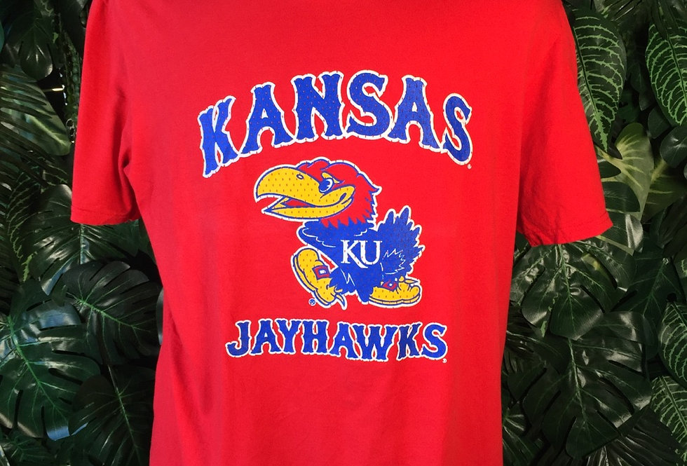 Kansas Jayhawks tee (L)