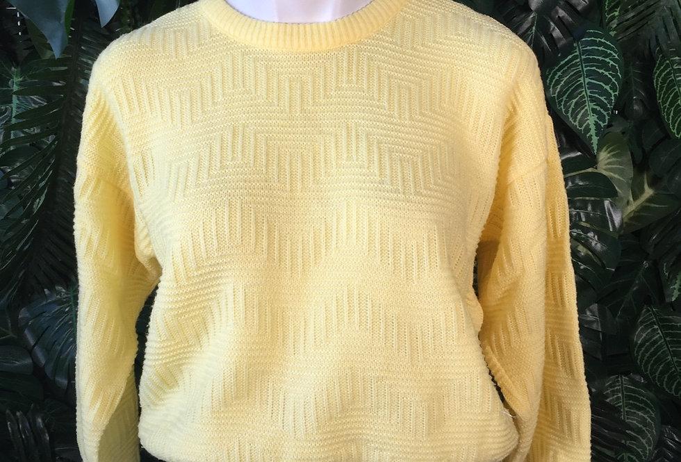 Yellow knit (S)