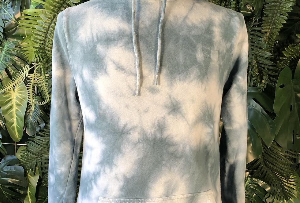 Grey blue hoodie