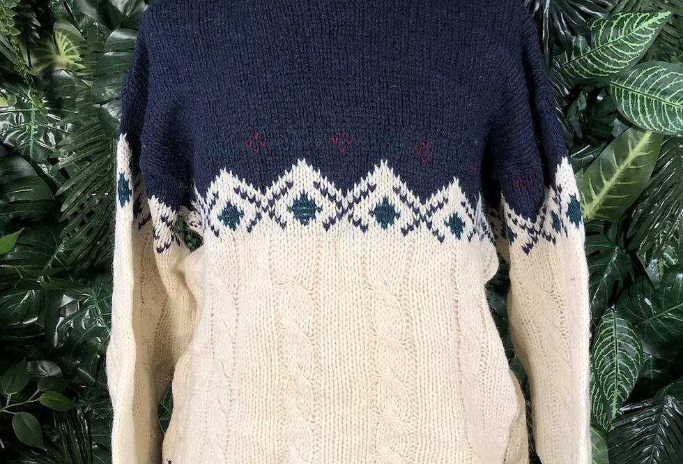 Pure wool knit