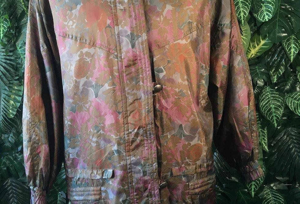 Botanic print jacket