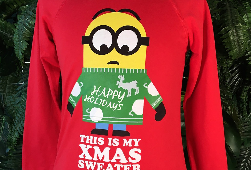 Minion Christmas Crew Neck (M/L)