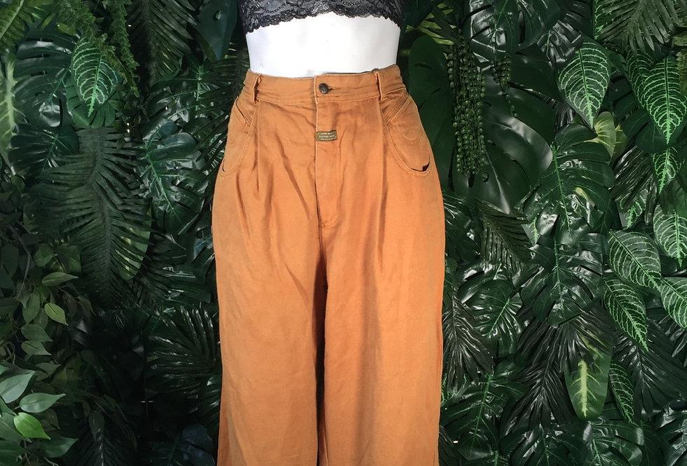 90s ochre jeans (size 10)