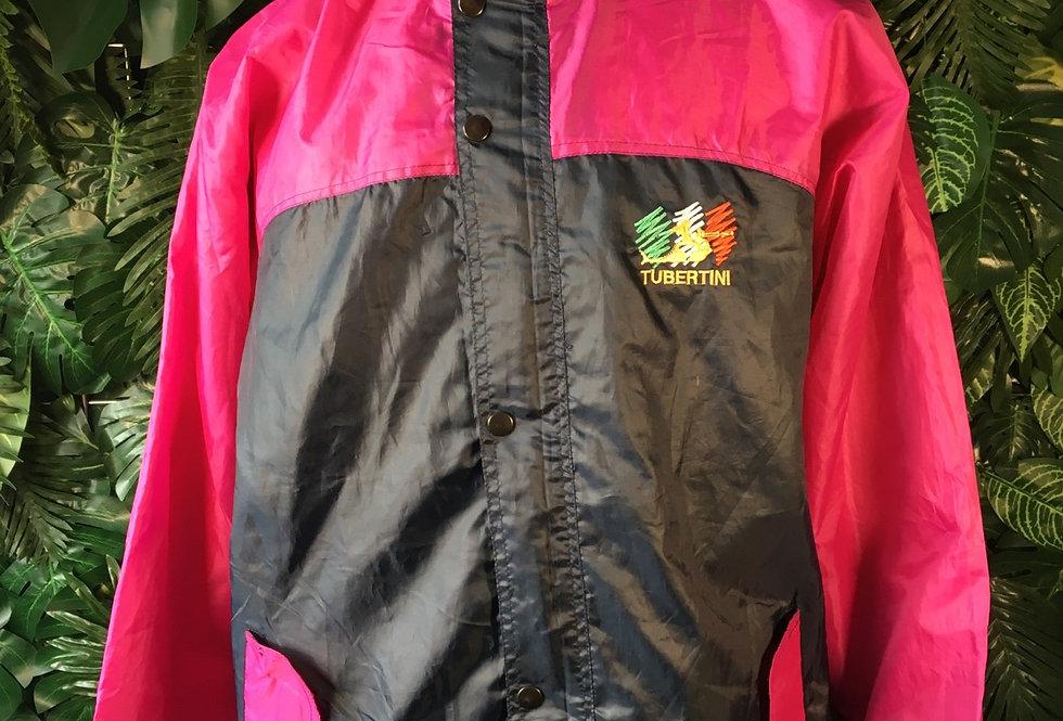 Tubertini track jacket with fold away hood (L)