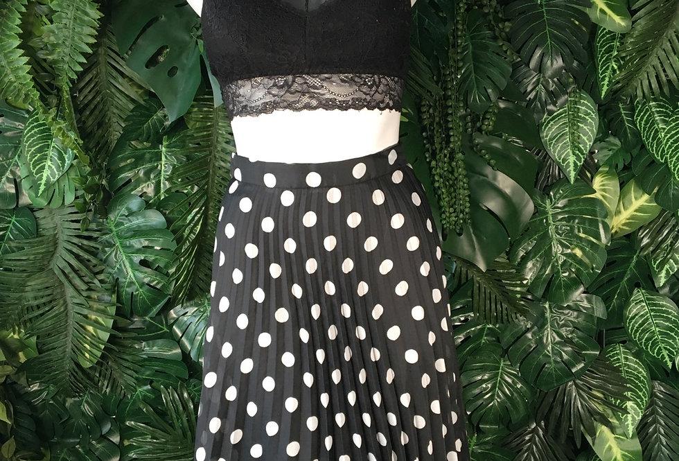 Polka dot skirt (size 8)