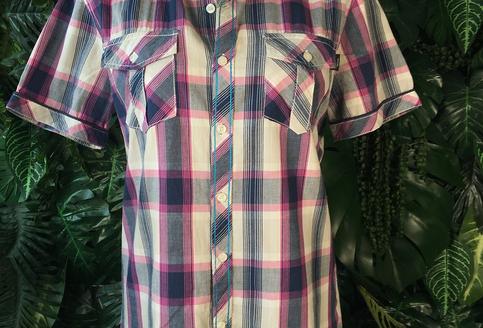 Armani Jeans plaid shirt