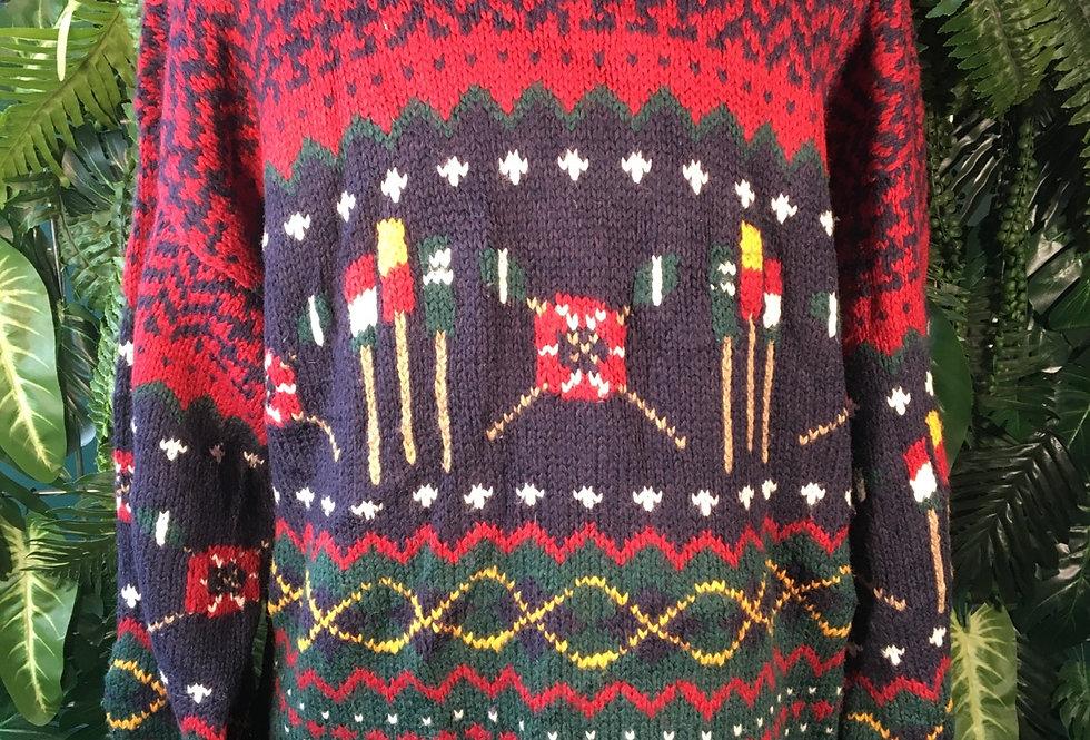 Tommy Hilfiger Sailing Pattern Knit (XL)