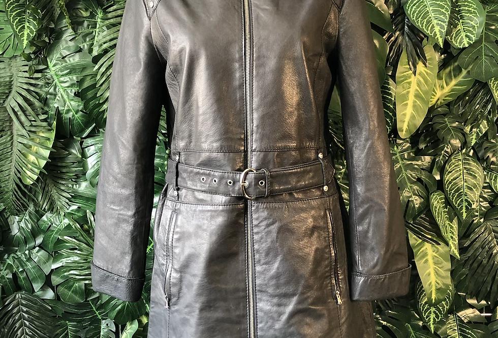 Conbipel leather dress/ jacket