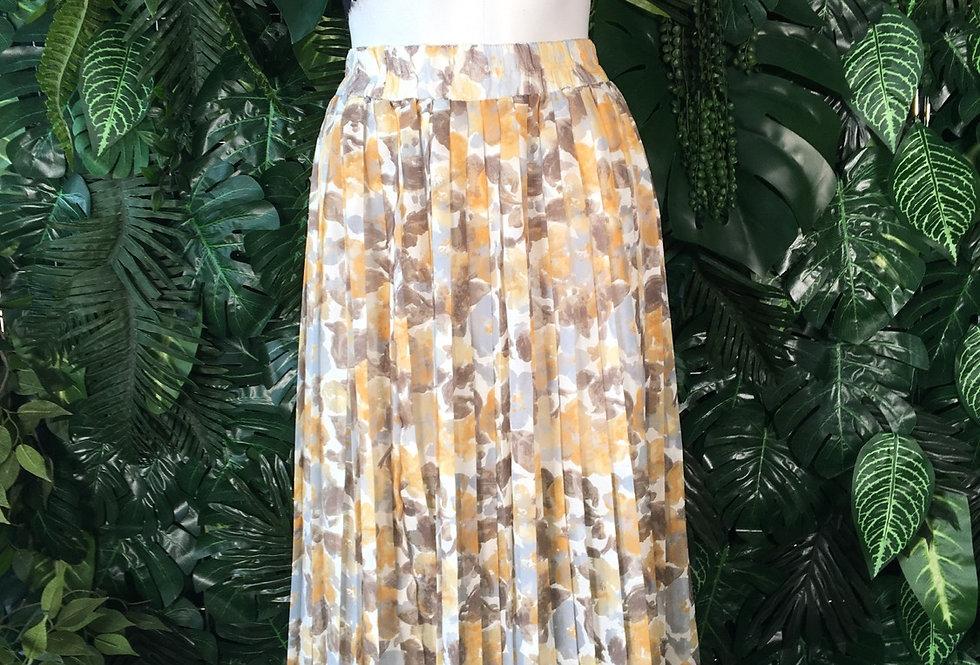 Oui light floral skirt (size 38)