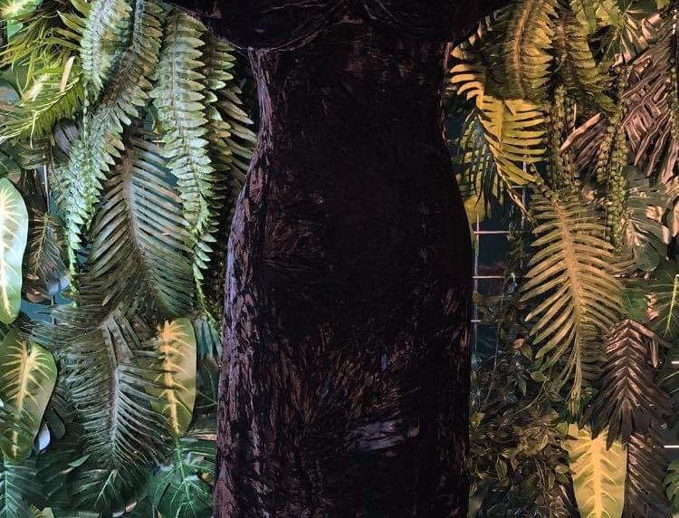 80s Velvet Gown (10-12)