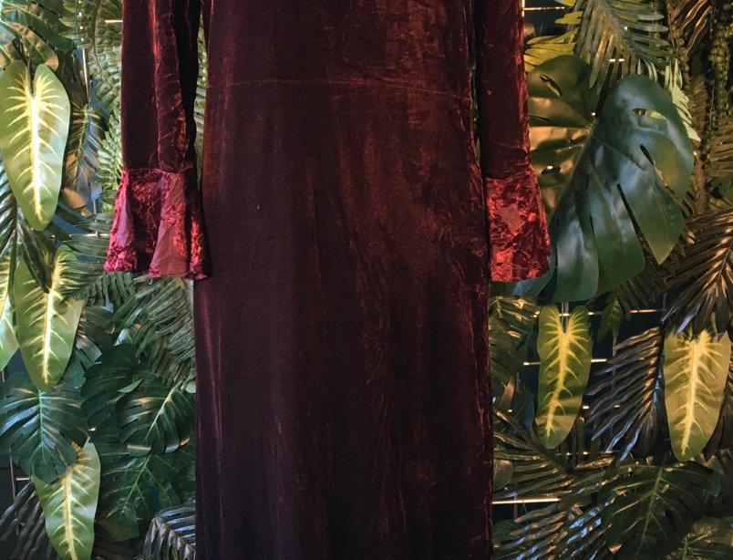 Studio Ease Velvet Dress (Size 10-12)