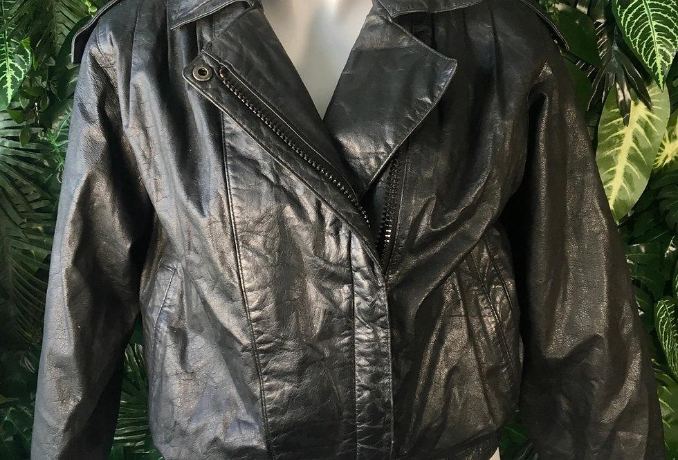 Raffaelo leather jacket (Size 8)