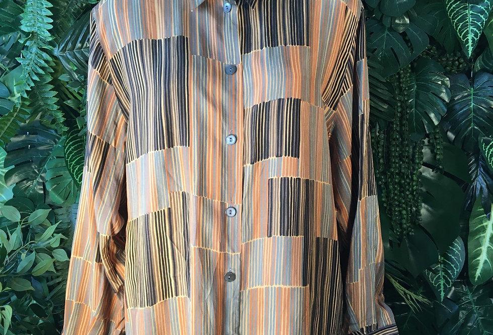Sommerman striped blouse (size 18)