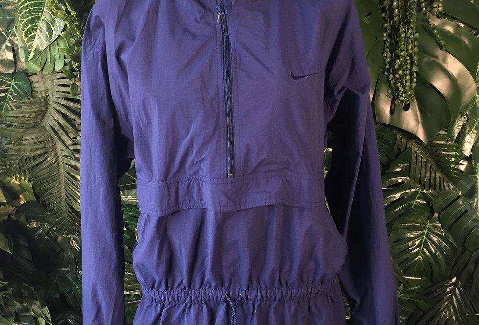 Nike hooded pullover windbreaker (M)