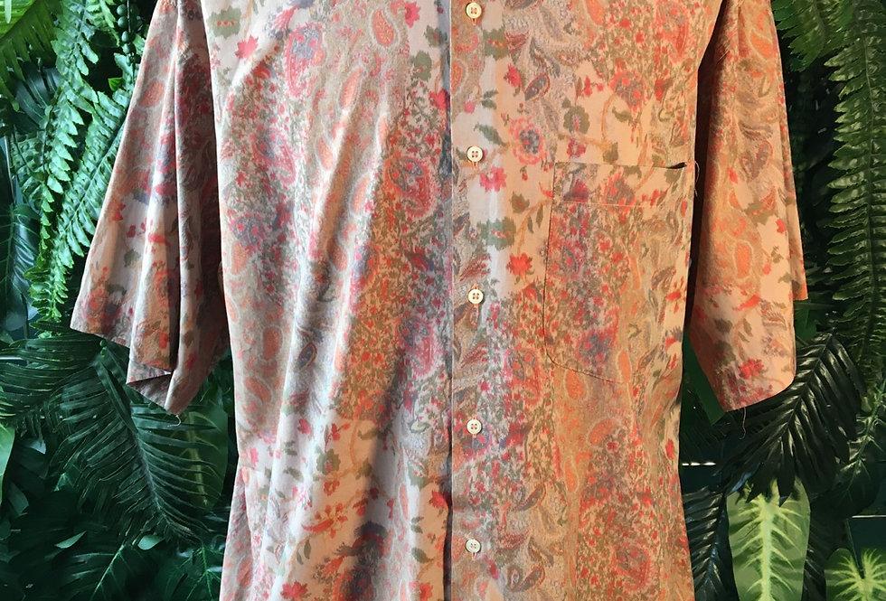 Emilio DiRoma 90s Paisley Shirt (L)