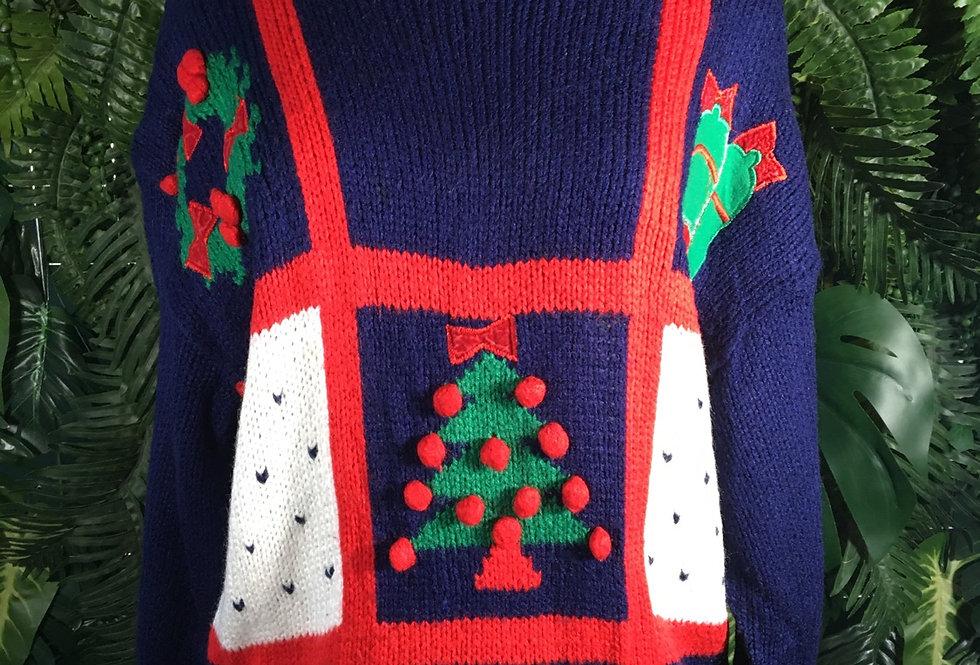 Karen Scott Christmas Knit (L)