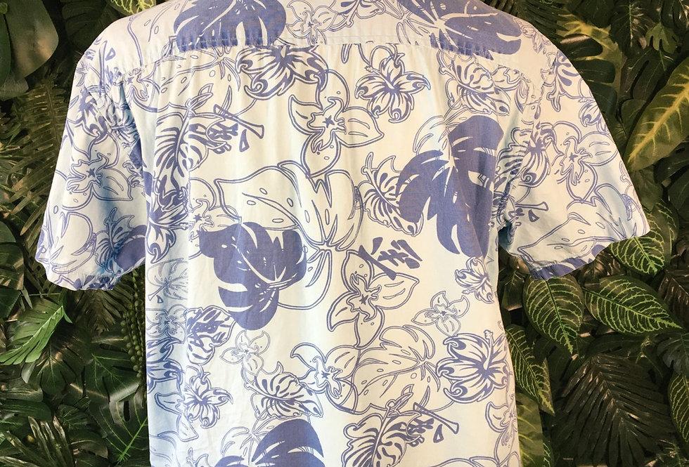 InScene blue Hawaiian shirt (M)