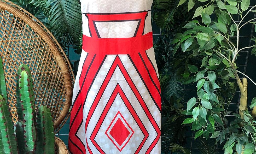 1970s halter summer dress