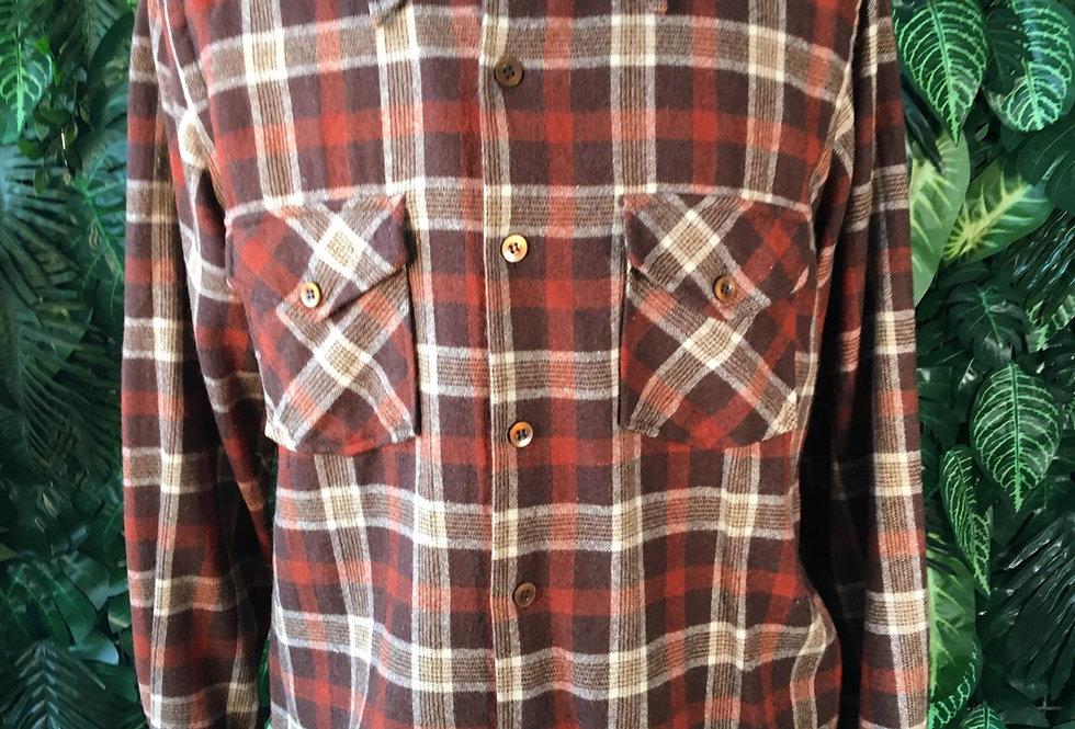 Atkinson 70s wool flannel shirt (M)