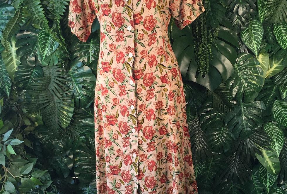 Challenge rose print dress (size 16)