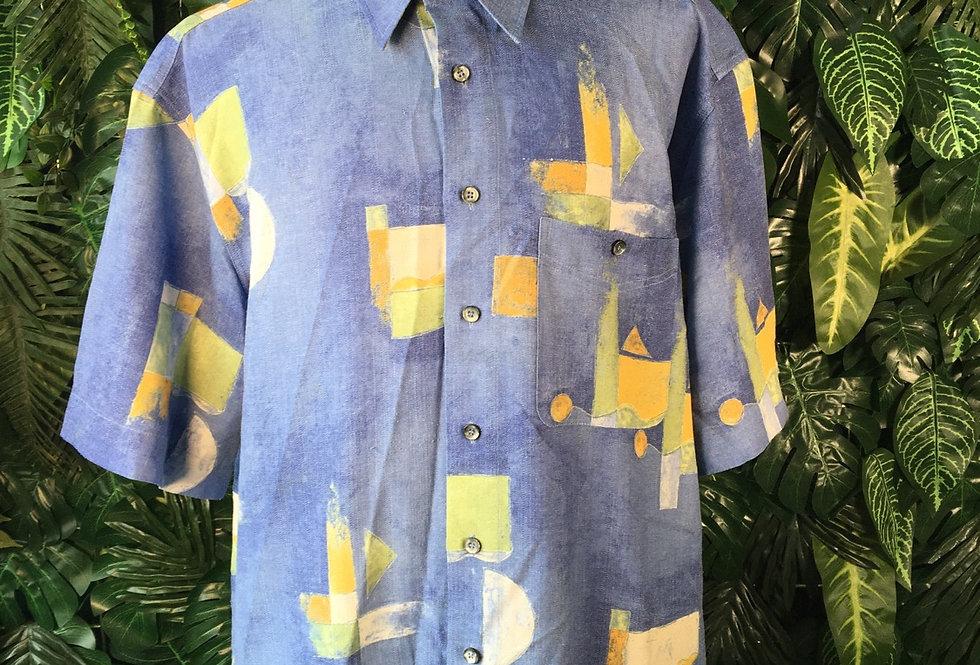 Jupiter abstract summer shirt (XL)