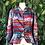 Thumbnail: 1990s Aztec satin jacket/blouse