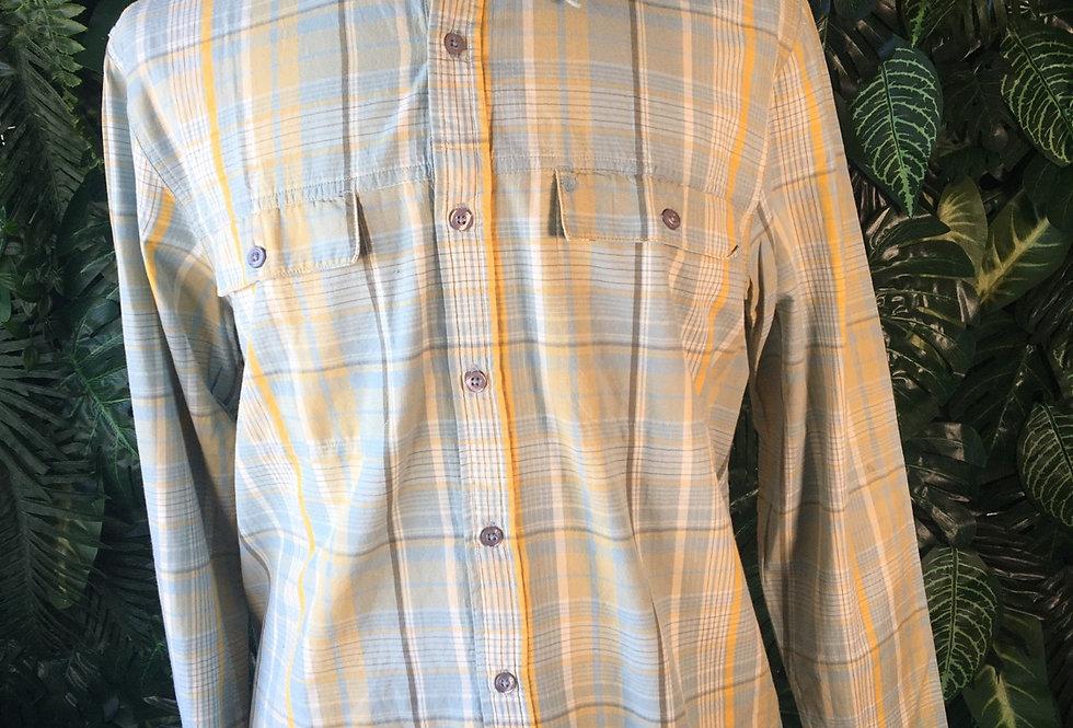 Wrangler check shirt (M)