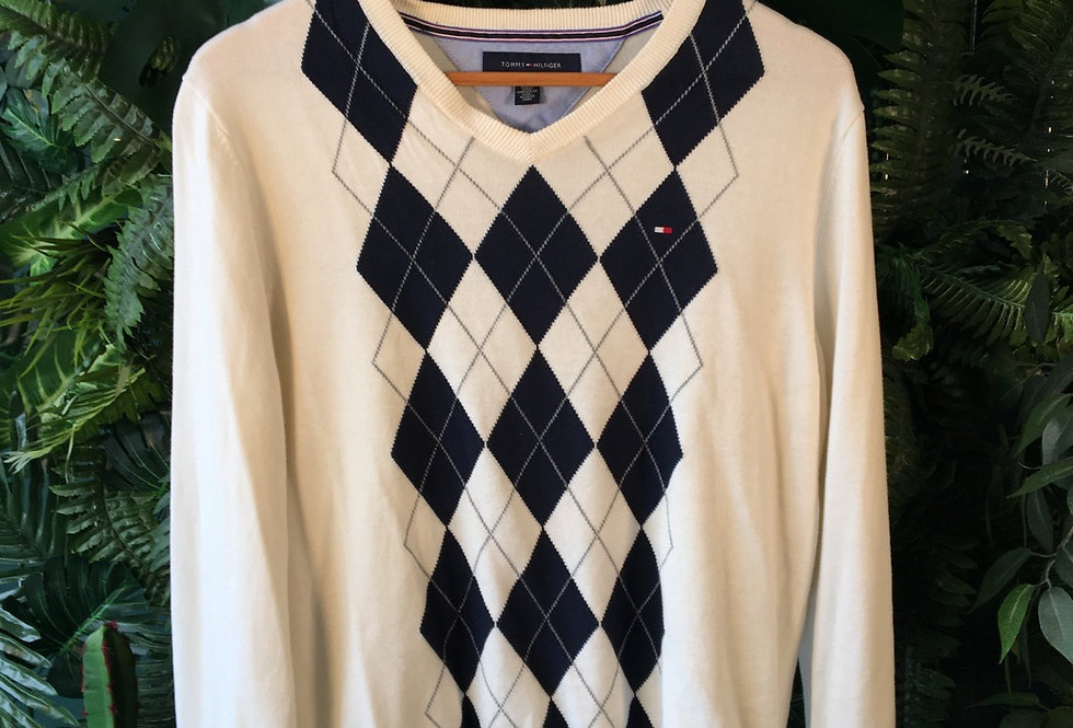 Hilfiger Gents Diamond Knit