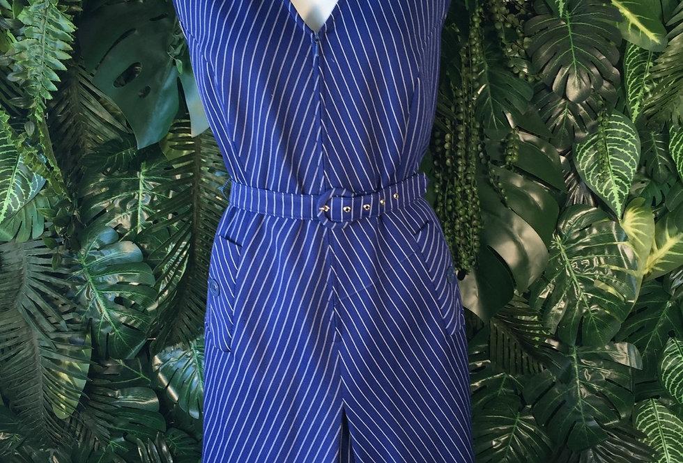 Fab 60s pin stripe dress (size 16)